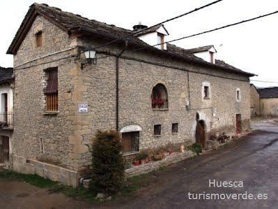 TURISMO VERDE HUESCA. Casa Ventura de Osia.