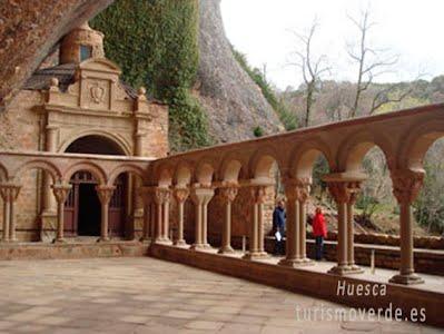 TURISMO VERDE HUESCA. Monasterio de San Juan de la Peña.